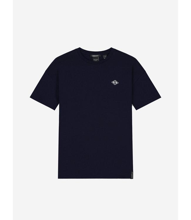 Alano T-Shirt 8-454 - Faded Dark Blue