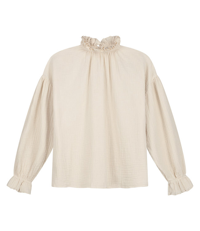 Holly top ivory