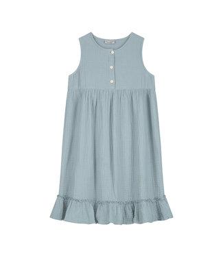DAILY BRAT Moon dress pearl blue