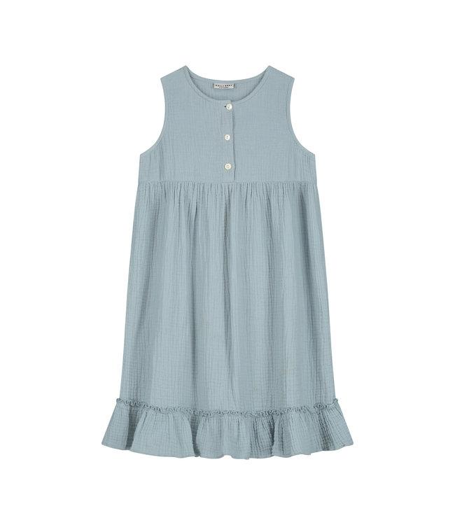 Moon dress pearl blue