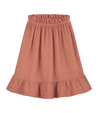 DAILY BRAT Tara skirt summer cinnamon