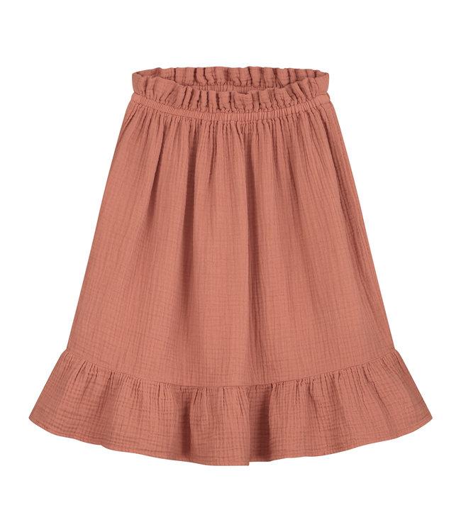 Tara skirt summer cinnamon