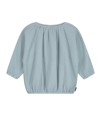 DAILY BRAT Lily top pearl blue