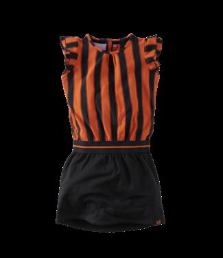 Z8 Claudette Dress - Happy henna/Beasty black