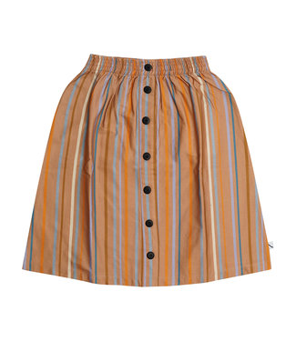 CarlijnQ Multi-color stripes - longskirt