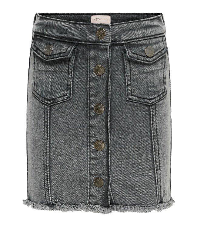 KONFARRAH Pocket denim skirt 15226756