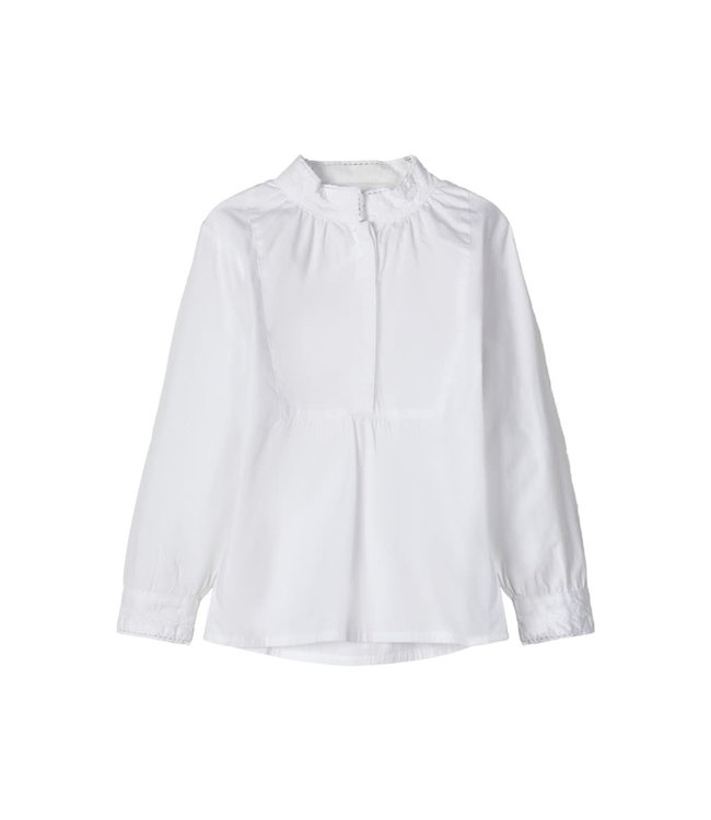 NMFTERINA Shirt 13173713 - Bright White