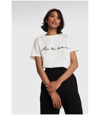 ALIX Alix the label T-shirt - soft white