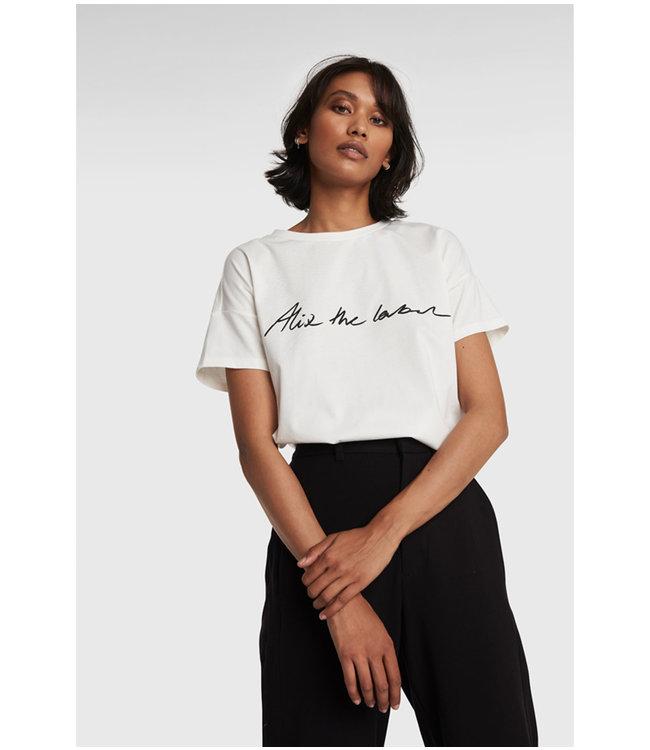 Alix the label T-shirt - soft white