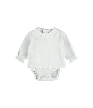 name it NBFFERRET Shirt 13188460 - bright white