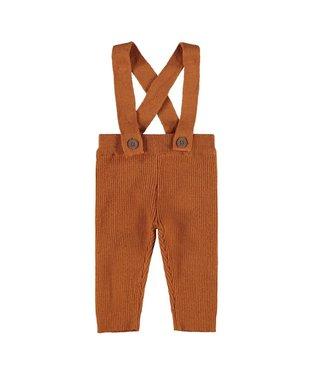 Lil Atelier NBMIVIGO Knit pants 13189107 - ginger