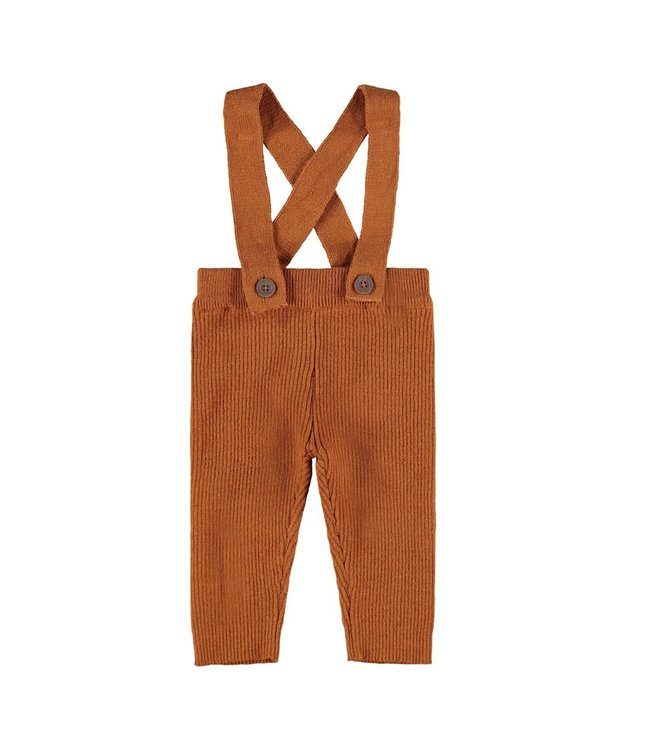 NBMIVIGO Knit pants 13189107 - ginger