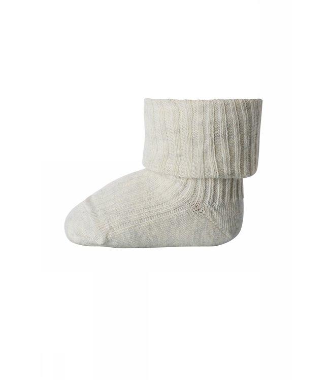 Socks rib 533 | 499 creme marl
