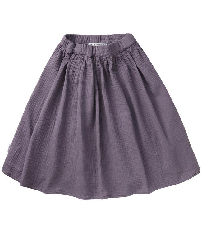 Muslin Midi Skirt Lavender
