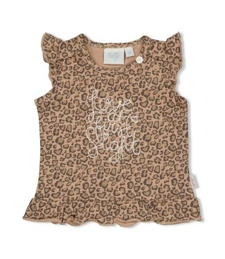 Feetje T-shirt AOP 51700650 - zand