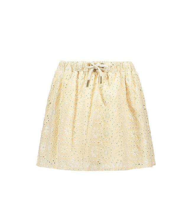 Broidery skirt 103-5730 - sand