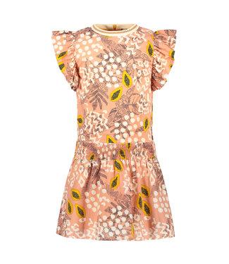 FLO Woven dress 103-5812 - Pink papaya