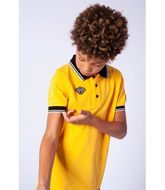 BLACK BANANAS Wavy Polo 014 - Yellow