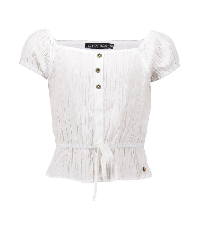 Stacey Blouse - paper white