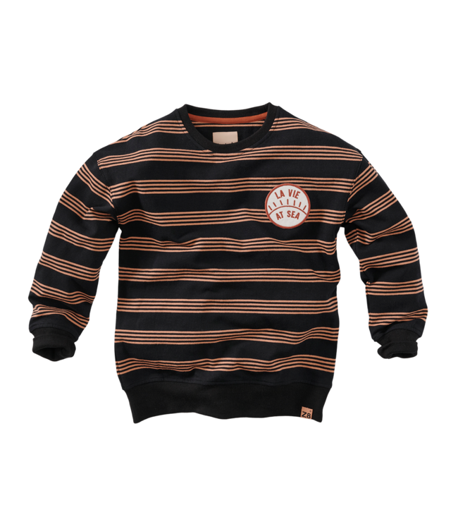 Lou Sweater - Beasty black/Stripes