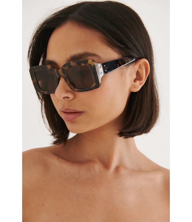 Squared sunglasses 003411 - tortoise