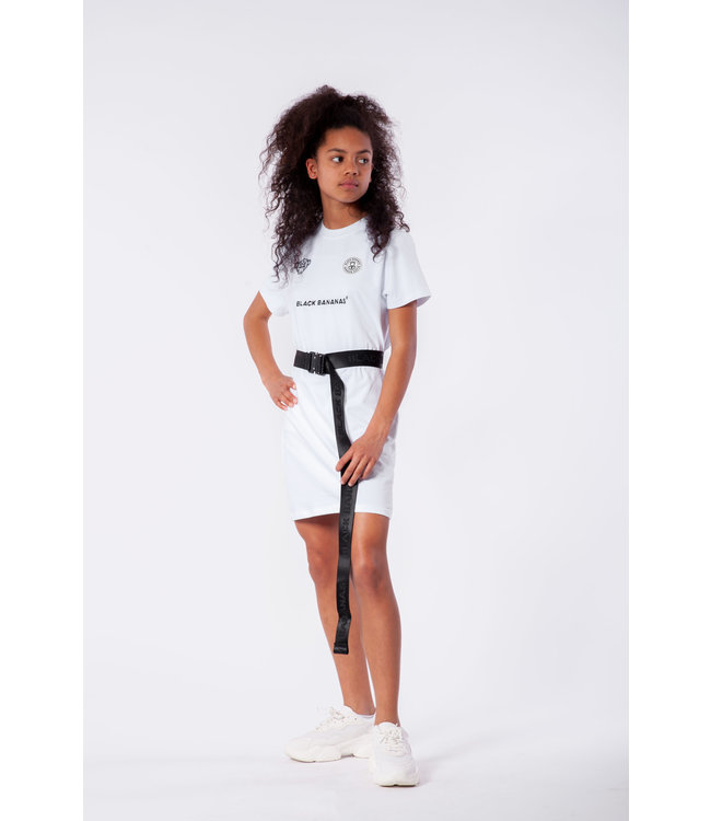 Girls Dress Tee JRSS21/029 - White
