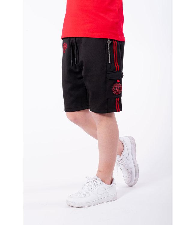 Unity Short JRSS21/021 - Black/Red