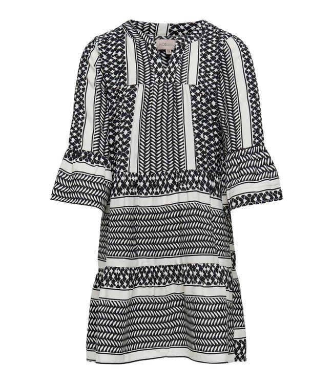 KONALBERTE Aztec dress 15209378 black