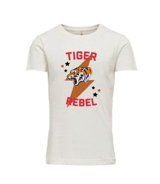 KIDS ONLY KONVERONICA T-shirt 15226687 white
