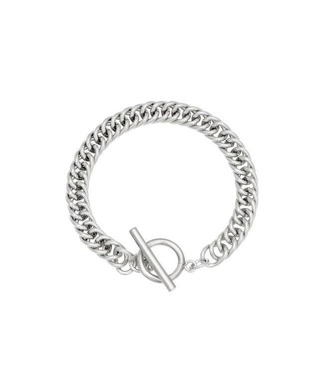 Armband Dublin - zilver