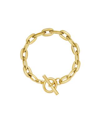 Armband Groovy - goud