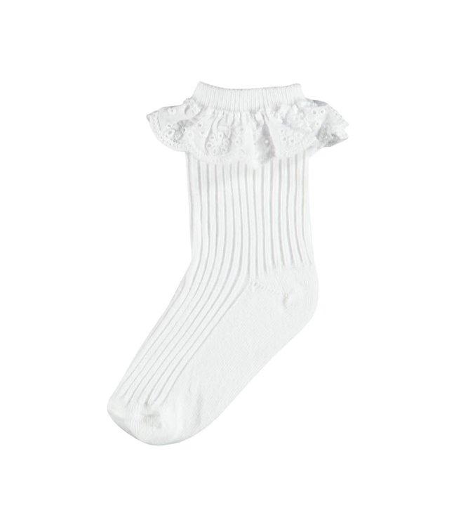 NMFHALINE Sock 13190548 - bright white