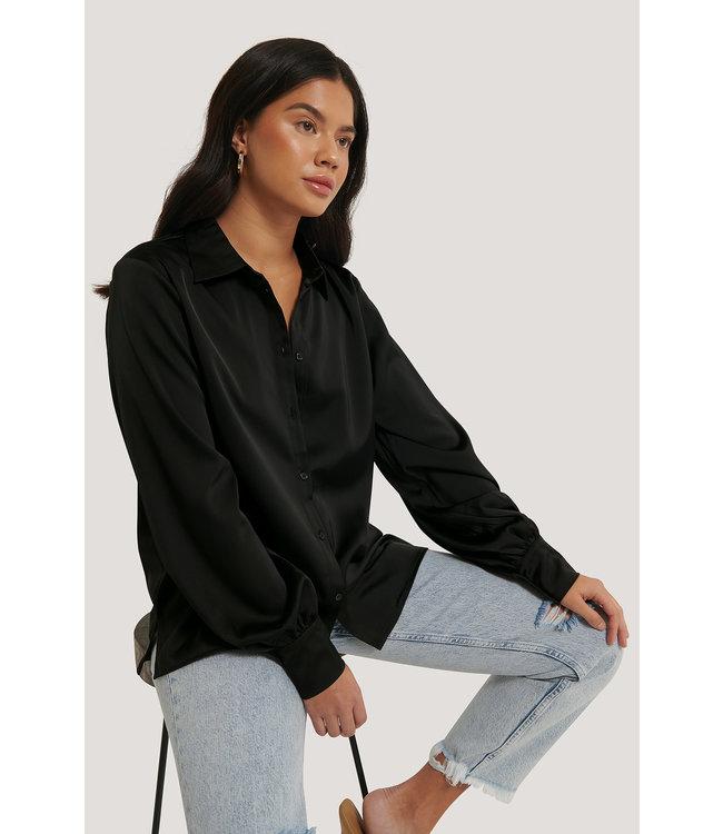 Flowy shirt 1018-004194 | black