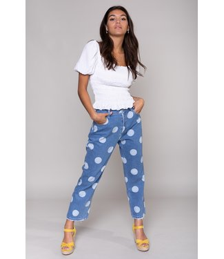 Colourful Rebel Bo Dots Boyfriend Jeans 10253