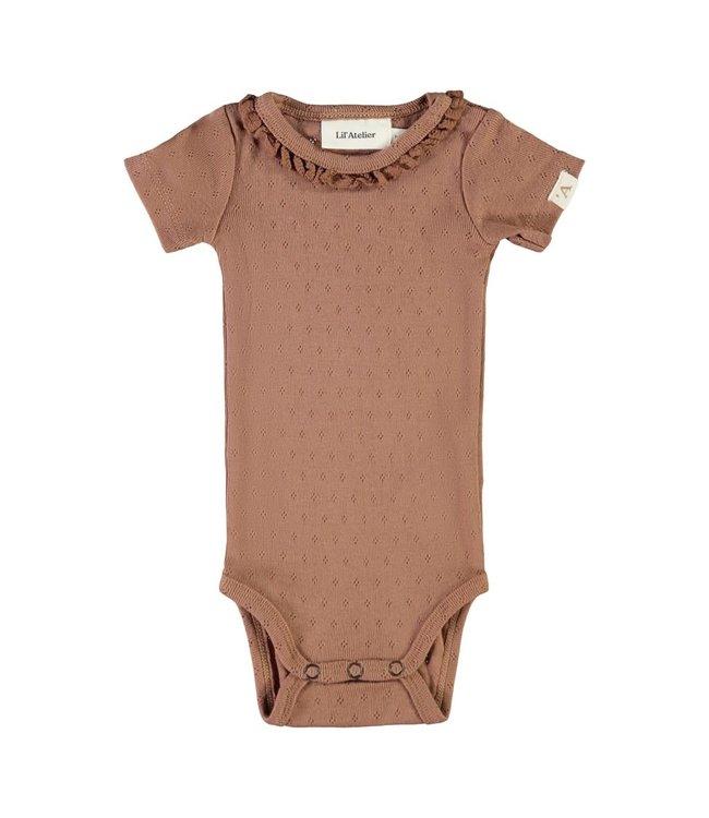 NBFSAFRAN Body s/s 13192085 - brown