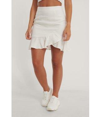 NA-KD Bottom flounce skirt 006807