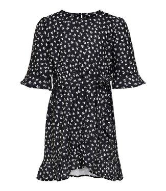 KIDS ONLY KONSISSE wrap dress 15238004 - black