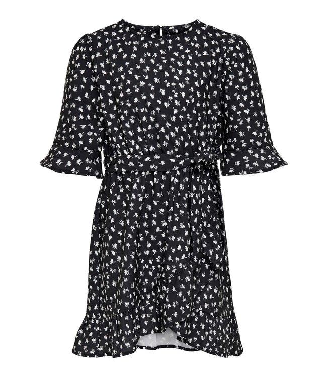 KONSISSE wrap dress 15238004 - black