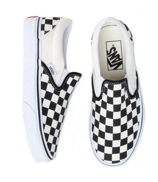 VANS UA Slip-On VN000EYEBWW1 |  Checkerboard