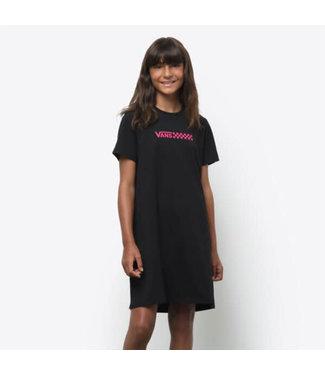 VANS T-shirt dress VN0A5AU2BLK1 | black