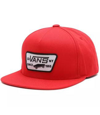 VANS Patch Snapback VN000U8G4PV1 | red