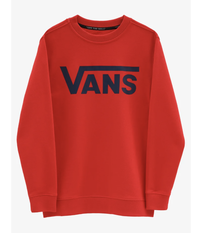 Classic Crewneck VN0A36MZZ5F1 | high risk red
