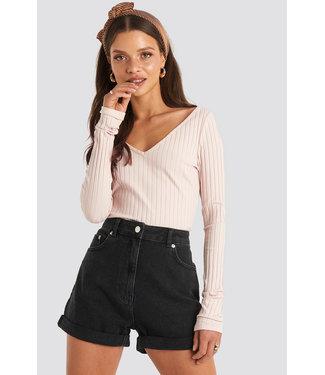 NA-KD Mom Shorts 007543 - black
