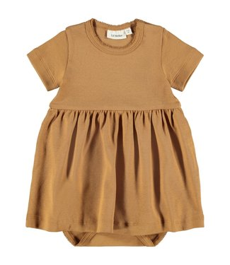 Lil Atelier NBFGAYA Dress s/s 13194998 - Tabacco