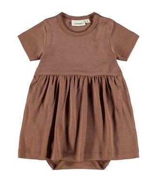 Lil Atelier NBFGAYA Dress s/s 13194998 - Carob