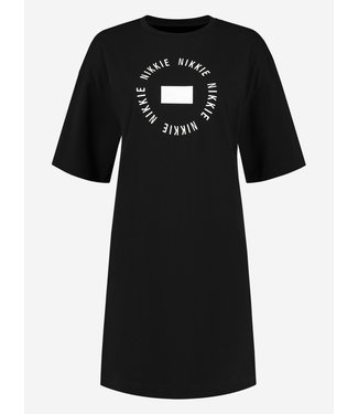 NIKKIE Round NIKKIE Tee Dress 5189 black
