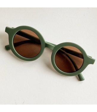 Petite Noe Zonnebril rond - green