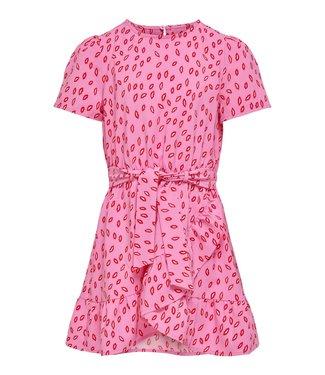 KIDS ONLY KONSOLVEIG wrap dress 15237821 - pink