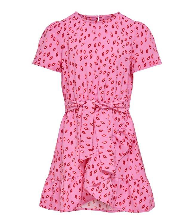 KONSOLVEIG wrap dress 15237821 - pink