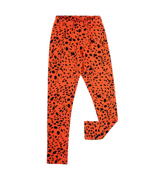 CarlijnQ Legging | spotted animal red